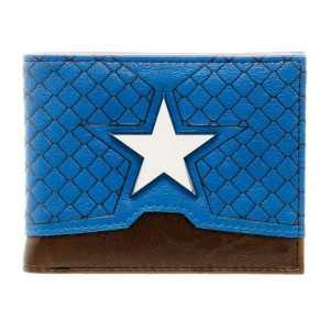 Captain America Suit Bi-Fold Wallet
