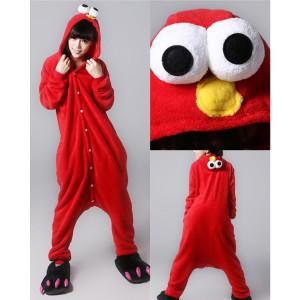 Adult Size Elmo Kigurumi Onesie