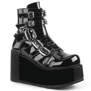 Ankle Boot with Multi Buckle Straps