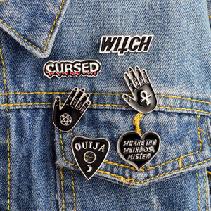 Occult Enamel Pin 6pz Set