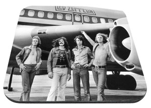 "Led Zeppelin - Plane 9x7"" Mousepad"