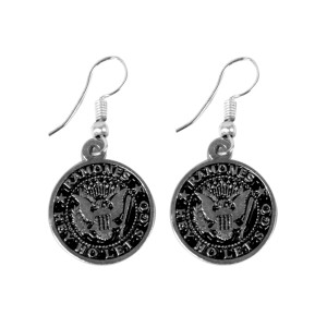 Ramones Eagle Logo Earrings