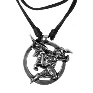 Black Sabbath's Demon Necklace