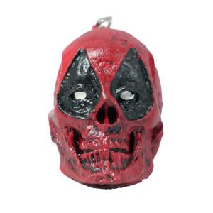 Deadpool Skull Keychain