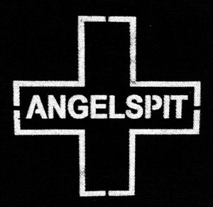 "Angelspit - Cross 5x6"" Printed Patch"