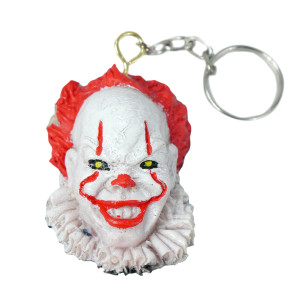 IT 2017 - Pennywise Head Keychain