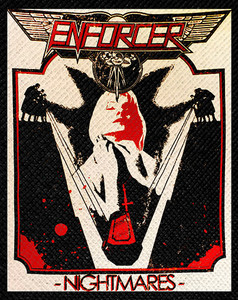 "Enforcer - Nightmares 4x5"" Color Patch"