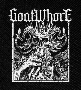 "Goatwhore - Demon King 4x4.5"" Printed Patch"