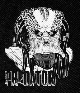 "Predator Unmasked 4x5"" Printed Patch"
