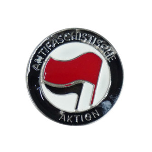 "AntiFa Flag 1.5"" Enamel Pin"