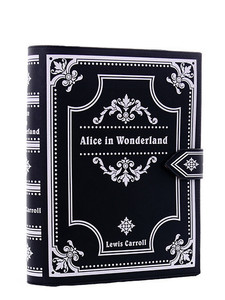 Restyle Clothing - Alice In Wonderland Book Hand Bag