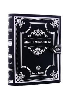 Restyle Clothing - Alice In Wonderland Book Hand Bag