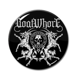 "Goatwhore Goat Crest 1"" Pin"