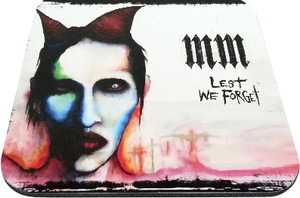 "Marilyn Manson - MM Lest We Forget 9x7"" Mousepad"