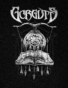 "Gorguts - Book of Spells 4x5"" Printed Patch"
