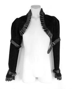 Dr. Frankenstein - Velvet Victorian Bolero Jacket
