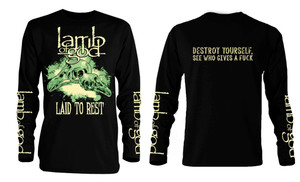 Lamb of God - Laid to Rest Long Sleeve T-Shirt