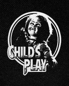 "Child's Play - Chucky 4x5"" Printed Patch"