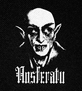 "Nosferatu 4x5"" Printed Patch"