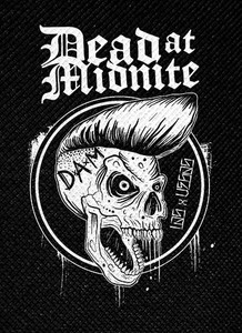 "Dead at Midnite Suave Skull 4x5.5"" Printed Patch"