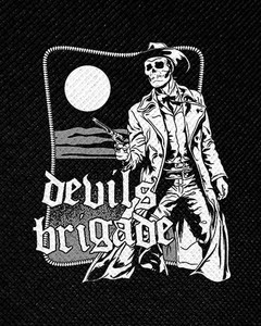 "Devils Brigade Poster 4x5"" Printed Patch"