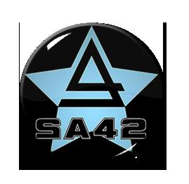 """Signal Aout 42 - SA42 Star 1"""" Pin"""