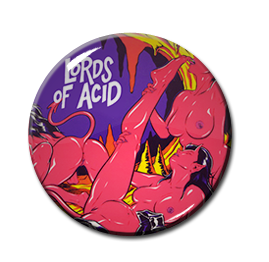 """Lords of Acid - Voodoo U 1"""" Pin"""
