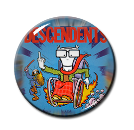 "Descendents - When I get Old 1"" Pin"