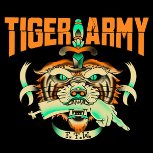 "Tiger Army - F.T.W. 4x4"" Color Patch"