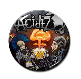 "Acidez - Beer Drinkers Survivors 1"" Pin"