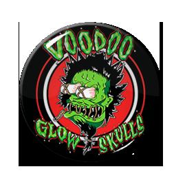 """Voodoo Glow Skulls - Voodoo Head 1"""" Pin"""