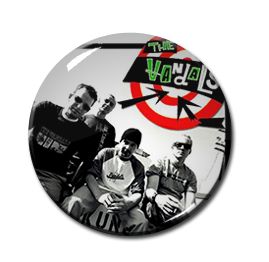 "The Vandals Band Pic 1"" Pin"
