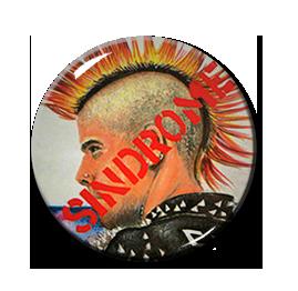 "Sindrome - Sindrome del Punk 1"" Pin"