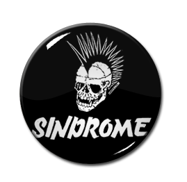 "Sindrome - Skull 1"" Pin"