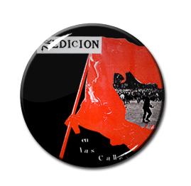"""Sedicion - En Las Calles 1"""" Pin"""