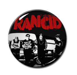 "Rancid Band Pic 1"" Pin"