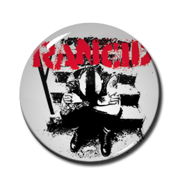"Rancid - And Out Come The Wolves 1"" Pin"