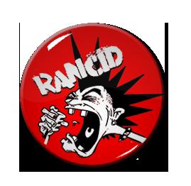 """Rancid - Cartoon Punk 1"""" Pin"""