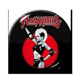 "Plasmatics - The Brainwashed 1"" Pin"