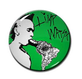 "Limp Wrist 12"" Cover 1"" Pin"