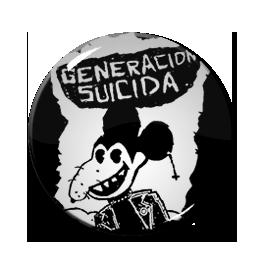 """Generacion Suicida - Rat Logo 1"""" Pin"""