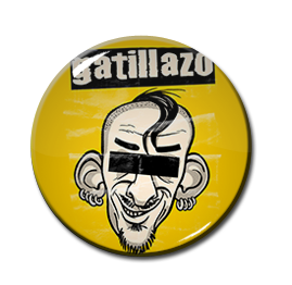 "Gatillazo - Lo Artesanal 1"" Pin"