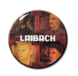 "Laibach - Let It Be 1.5"" Pin"