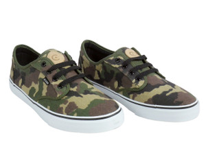 Canvas Camouflage Low Top Sneakers