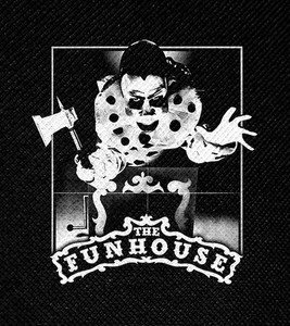 "The Funhouse 4x4.5"" Printed Patch"