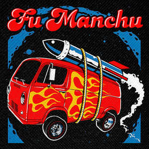 "Fu Manchu - Mos Generator 4x4"" Color Patch"