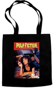 Pulp Fiction - Movie Poster Tote Bag Movie
