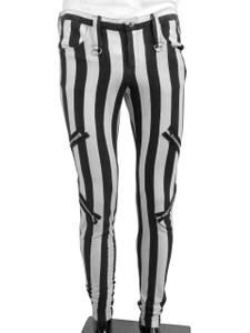 Dr. Frankenstein -Beetlejuice Style Pants