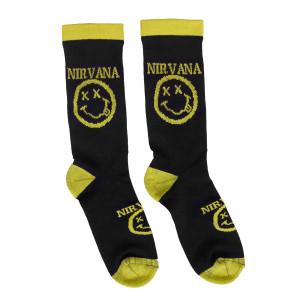 Nirvana Smiley Logo Socks