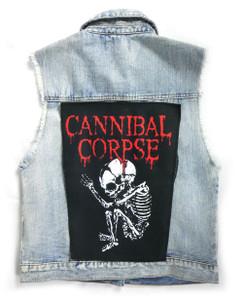 "Go Rocker - Cannibal Corpse Butchered at Birth  13.5"" x 10.5"" Color Backpatch"